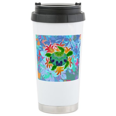 Flame Turtle Ceramic Travel Mug