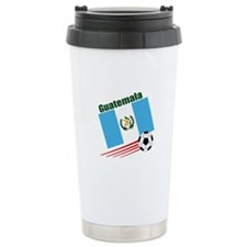 Guatemala Soccer Team Ceramic Travel Mug