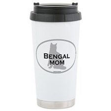 Bengal Mom Ceramic Travel Mug