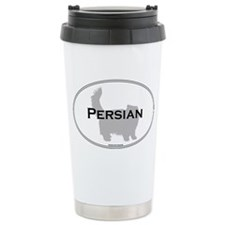 Persian Oval Ceramic Travel Mug