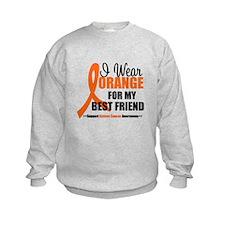 I Wear Orange Best Friend Sweatshirt