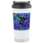 Peace Turtles Ceramic Travel Mug