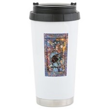 Raven Goddess Ceramic Travel Mug