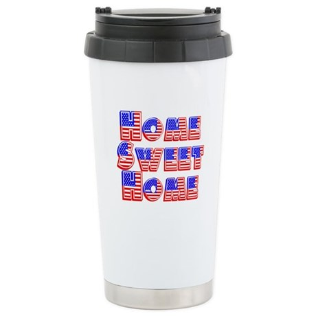 Home Sweet Home Ceramic Travel Mug