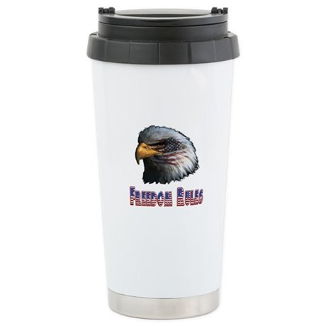 Freedom Rules Eagle Ceramic Travel Mug