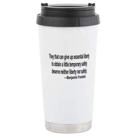 Essential Liberty Ceramic Travel Mug