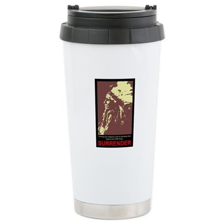Anti-Gun Control Ceramic Travel Mug