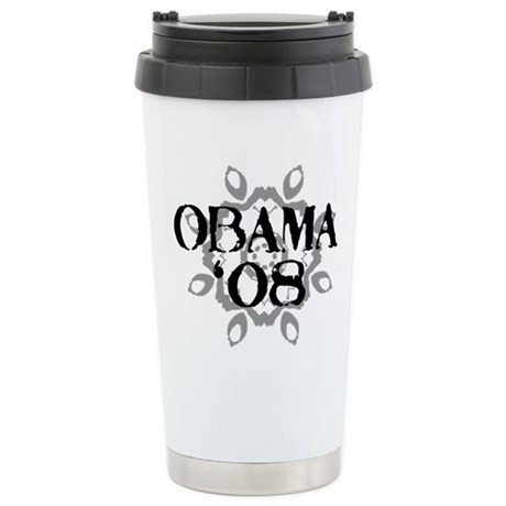 Obama '08 Ceramic Travel Mug