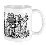 Couples Dancing Caricature Mug 2