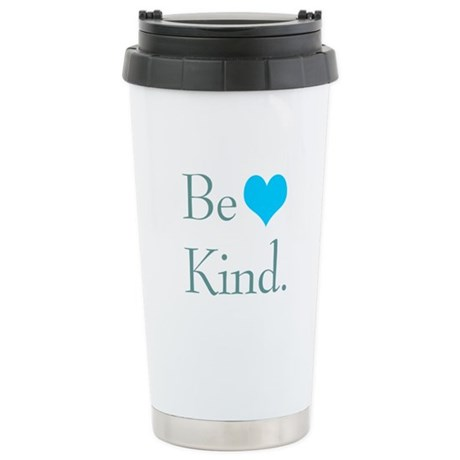 """Be Kind"" with a heart. Ceramic Travel M"