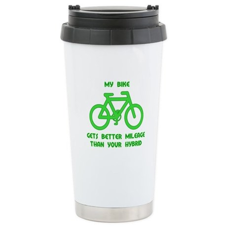 My Bike / Your Hybrid Ceramic Travel Mug