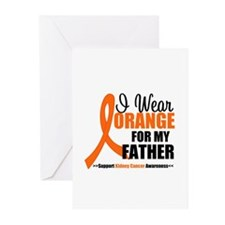 Kidney Cancer Greeting Cards (Pk of 10)