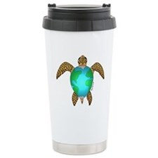 Sea Turtle Ceramic Travel Mug