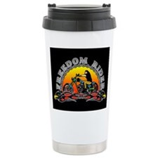 Freedom Rider Ceramic Travel Mug