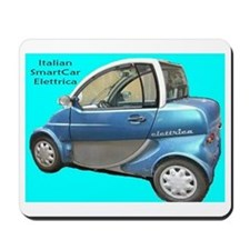Italian Smart Car Mousepad