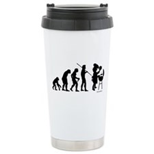 Barbecue Evolution Ceramic Travel Mug