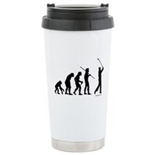 Golf Evolution Ceramic Travel Mug