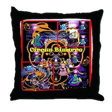 Circus Bizarre - Throw Pillow