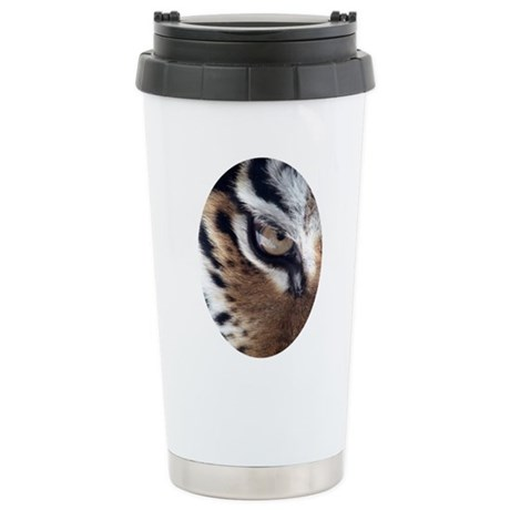 Tiger Eye Ceramic Travel Mug
