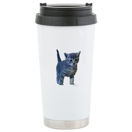 Kitten Ceramic Travel Mug