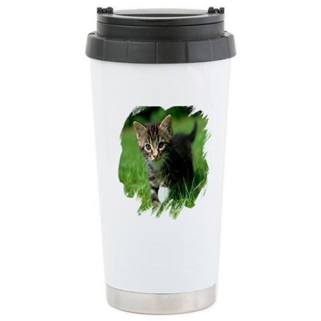 Baby Kitten Ceramic Travel Mug
