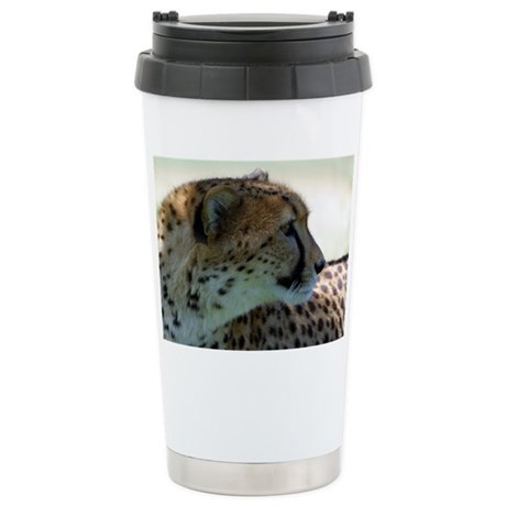 Cheeta Ceramic Travel Mug