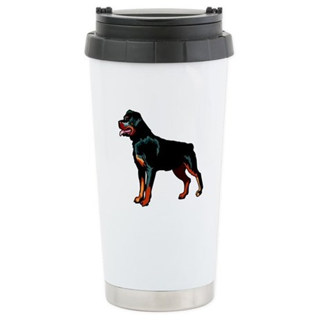 Rottweiler Ceramic Travel Mug