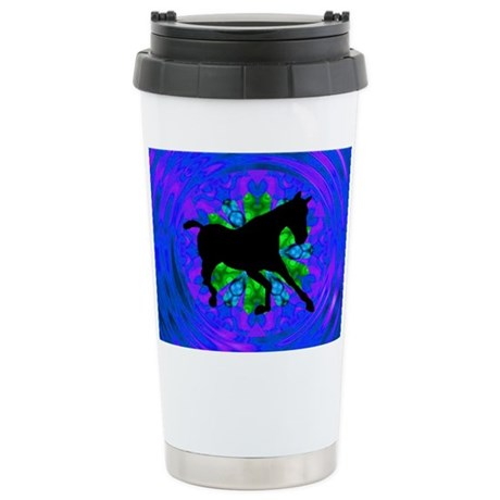 Kaleidoscope Colt Ceramic Travel Mug