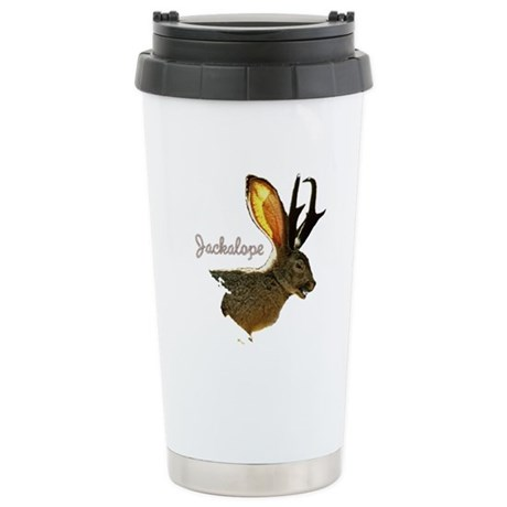 Jackalope Ceramic Travel Mug