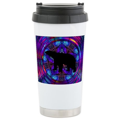 Bear Ceramic Travel Mug