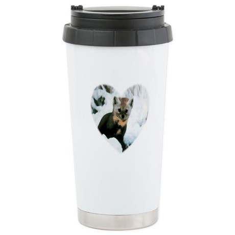 Little Fox Ceramic Travel Mug