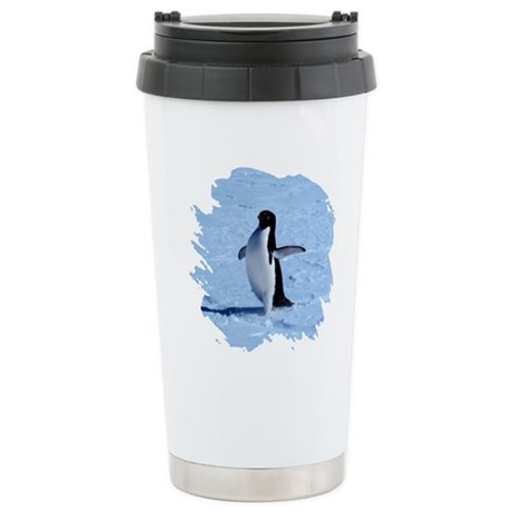 Penguin Ceramic Travel Mug