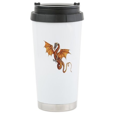 Fantasy Dragon Ceramic Travel Mug