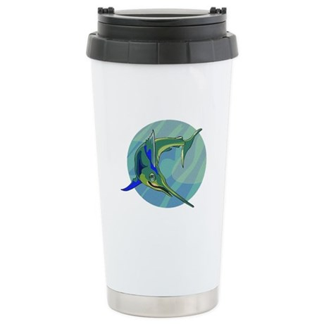 Sailfish Ceramic Travel Mug
