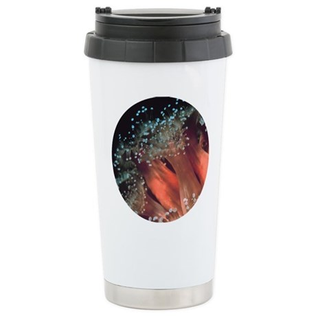 Strawberry Anemone Ceramic Travel Mug