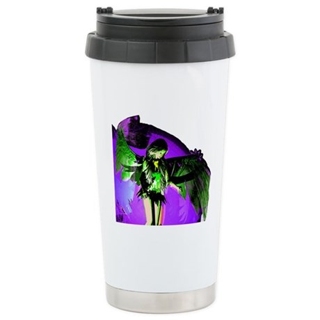 Angel Art Ceramic Travel Mug
