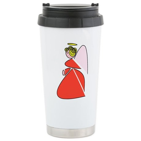 Pretty Angel Ceramic Travel Mug