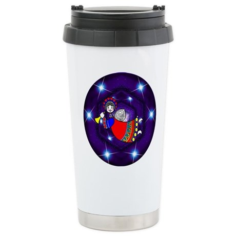 Flying Angel Ceramic Travel Mug