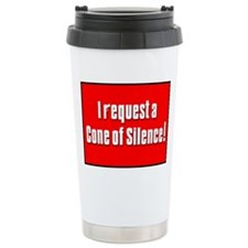 Cone of Silence Get Smart Ceramic Travel Mug