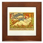 Century Magazine Framed Tile