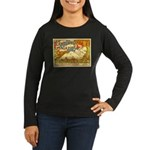 Century Magazine Women's Long Sleeve Dark T-Shirt
