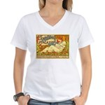Century Magazine Women's V-Neck T-Shirt
