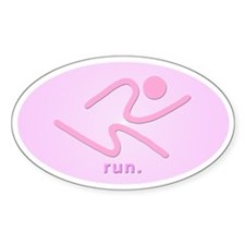 iRun2 Sticker (PinkPink)