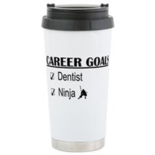 Dentist Career Goals Ceramic Travel Mug