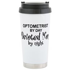 Optometrist Devoted Man Travel Mug