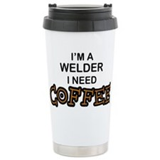 Welder Need Coffee Ceramic Travel Mug