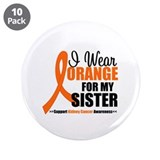 "Kidney Cancer 3.5"" Button (10 pack)"