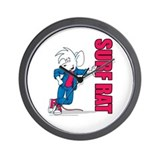 SURF RAT Wall Clock