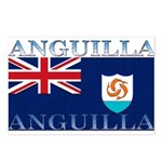 Anguilla Flag Postcards (Package of 8)