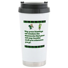 Irish Saying, Blessings and T Ceramic Travel Mug